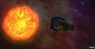 Artist's impression of Solar Probe Plus