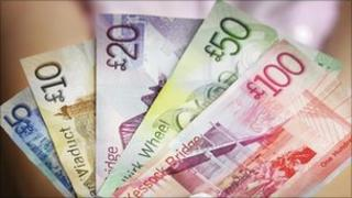 Scottish currency generic