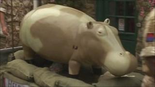 Hugo the Helmand Hippo