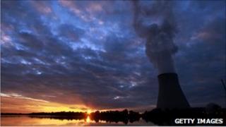 Nuclear power station near Landshut, Germany