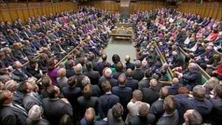 A general view of the House of Commons