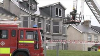 The fire was at a derelict house on the High Road in Portstewart