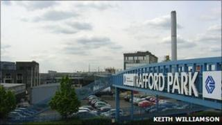 Trafford Park bridge