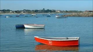 Boats at Les Amarreurs