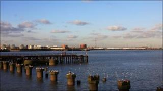 The Thames at Woolwich