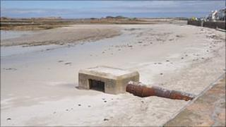 Cobo water outfall