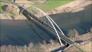Artist's impression of new Navvies Bridge
