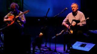 Irish traditional musicians