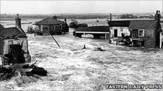 1953 floods in Norfolk