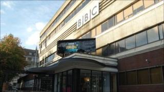 New Broadcasting House in Oxford Road