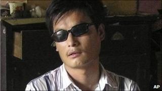 Chen Guangcheng (file photo 2006)