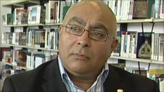 Bhanu Dhir, vice president at City of Wolverhampton College