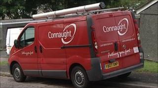 Connaught van