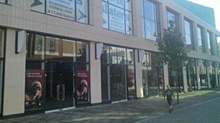 Swansea shopping complex