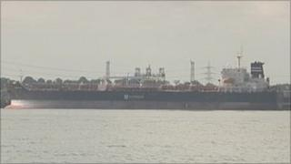 The Nord Fast oil tanker