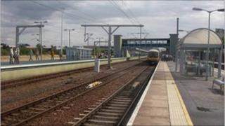 An artist's impression of the new platform