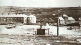 Birling Gap - photo taken in the 1800s