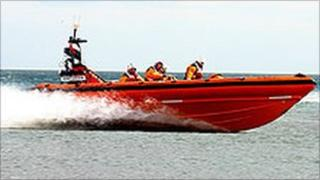 Flamborough lifeboat Elizabeth Jane Palmer [RNLI picture]