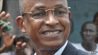 Former prime minister Cellou Dalein Diallo