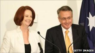 PM Julia Gillard and Treasurer Wayne Swan