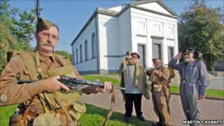 Back on duty after 70 years - Home Guard in Pembroke Dock