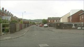Ardoyne area of north Belfast