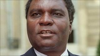 President Juvenal Habyarimana in 1991