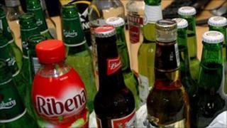 Seized drinks