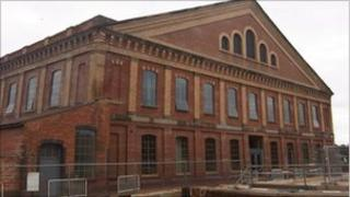 Worcester vinegar works built by Hill, Evans & Company in the 1850s and taken over by the 104th Regiment Royal Artillery volunteers on 13 September