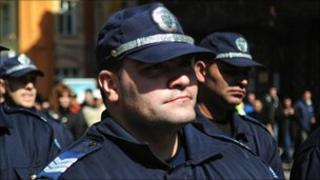 Bulgarian police - file pic, 15 Mar 09