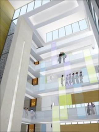 Keppie hospital design