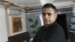 Anand George, of the Mint and Mustard in Cardiff