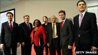 The leadership candidates before the last hustings of the campaign