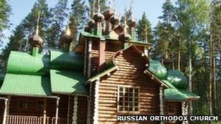 A church at the Galina Yama monastery (image: Russian Orthodox Church website for Yekaterinburg)