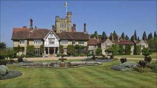 Cowdray Park House, Midhurst, West Sussex