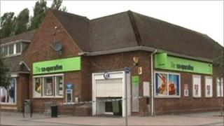 Co-op store in West Bridgford