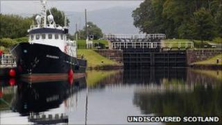 Caledonian Canal. Pic: Undiscovered Scotland