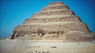 Stepped Pyramids at Saqqara, Egypt