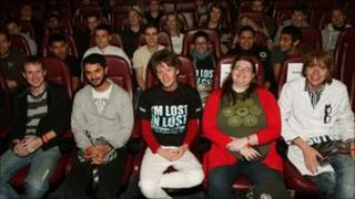 Lost fans in cinema