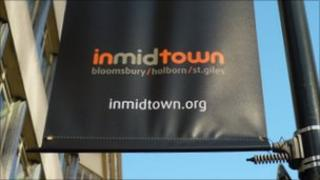 inmidtown flag in Holborn