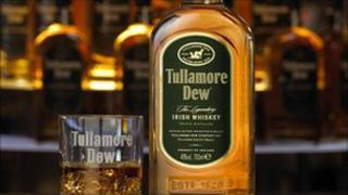 Bottle of Tullamore Dew