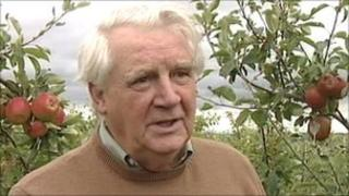 Paul Dunsby, from Cotswold Orchards Fruit Farm