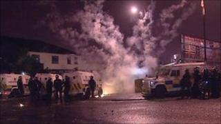 Rioting in Ardoyne, July 2010