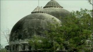 The Babri mosque