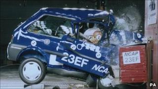 Crash test, PA