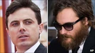 Casey Affleck and Joaquin Phoenix