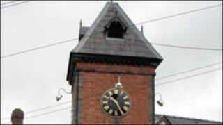 Whitchurch clock tower