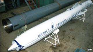 P-800 Yakhont missile (1997)
