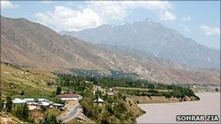 The remote Rasht valley in Eastern Tajikistan (Sohrab Zia)