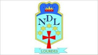 Lourdes Secondary logo